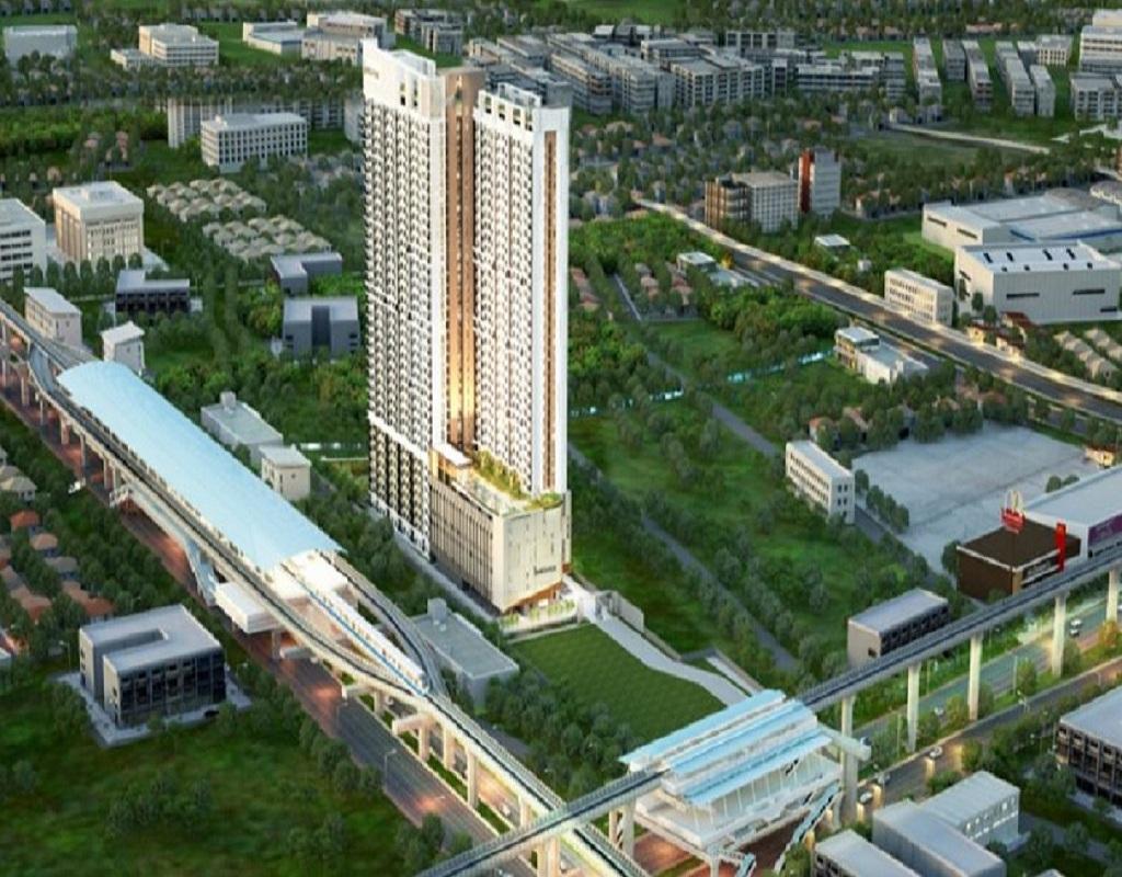 曼谷The Rich–Triple Station公寓